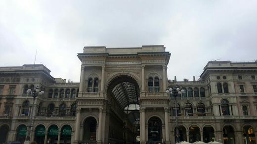 Galleria Vittorio Emanuele II, Milan.