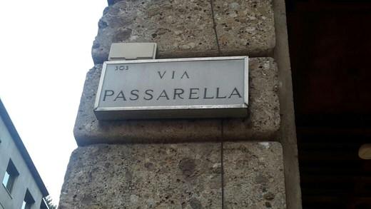 Via Passarella, Milan.