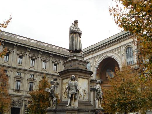 Piazza della Scala, Milan.