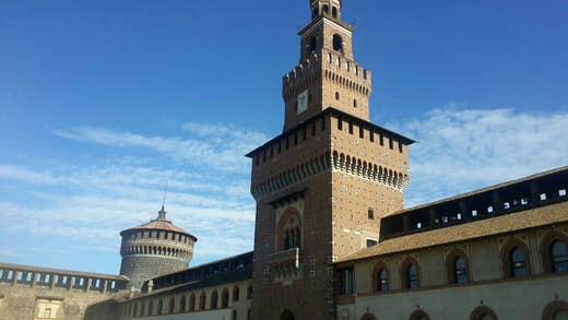 Castello Sforzesco, Milan.