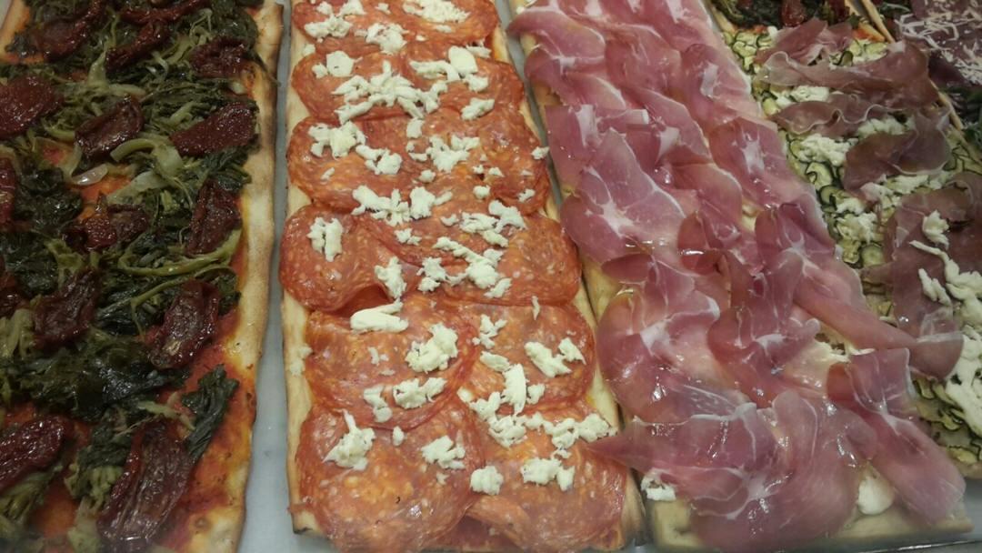 Delicious Roman pizza!