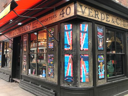 Montezuma's chocolate shop, London.