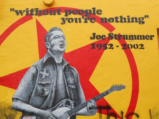 A graffiti in Notting Hill, London.