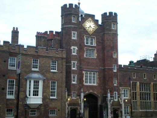 St James's Palace, London.