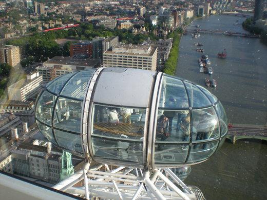 London Eye, London.