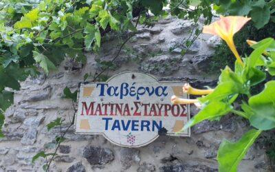Matina – Stavros tavern: Heavenly tastes in the garden of Eden