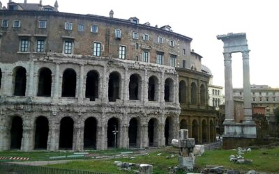 History becomes alive in the area that spreads from Forum Boarium to the Ghetto