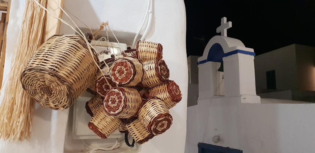 The Chora of Naxos, Cyclades, Greece.
