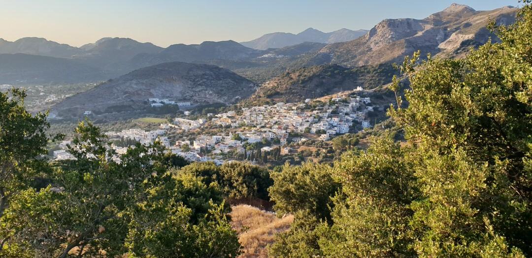 A village in Naxos island, Cyclades, Greece.