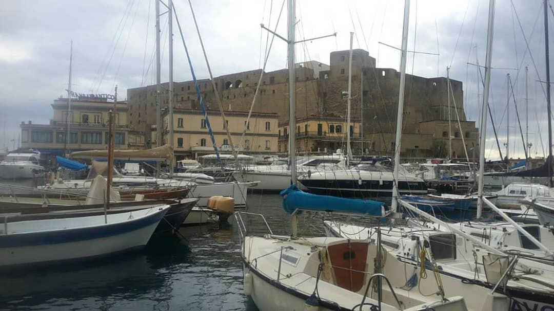 Castel dell' Ovo, Naples - Napoli, Italy.