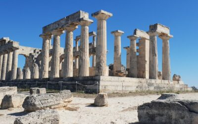 The sanctuary, the temple and the museum of Aphaia in Aegina